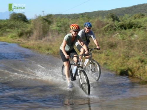 Biking Ner the River Ping