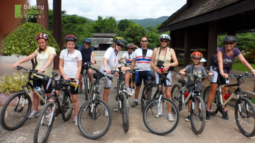 Biking to Sri Lanna National Park