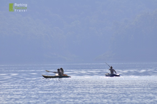 Kayaking at Sri Lanna